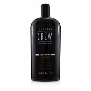 American Crew Men Fortifying Shampoo (Daily Shampoo For Thinning Hair) 1000ml