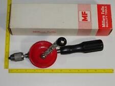 Millers Falls Hand Drill EggBeater NOS No.2500C VTG Carpenter Cabinetmaker Tool