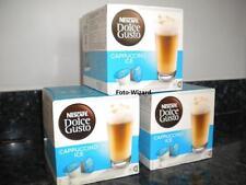NESCAFE DOLCE GUSTO 48 CAPPUCCINO ICE COFFEE PODS 3 X 16 NEW & FREE P&P