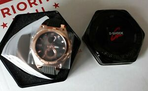 Womens Casio Baby-G G-MS Rose Gold-Tone Stainless Steel Watch MSGC100G-1