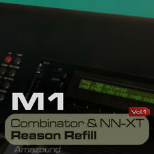 BEST OF KORG M1 REASON REFILL 208 NNXT & COMBINATOR 1704 SAMPLES 24bit PC MAC