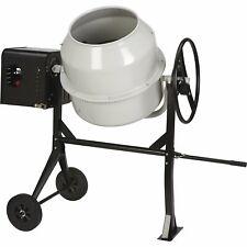 Klutch Portable Gas Cement Mixer - 6 Cu. Ft. Drum