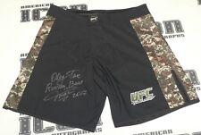 Oleg Taktarov Signed Official UFC Fight Shorts Trunks BAS Beckett COA Autograph