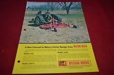 Bush Hog 109 1209 Rotary Cutter Dealer's Brochure YABE10