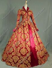 Renaissance Royal Queen Dress Theater Quality Ball Gown Cosplay Costume 162 L