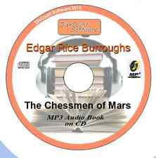 The Chessmen of Mars - Edgar Rice Burroughs MP3 Audio Book 22 chapters on CD