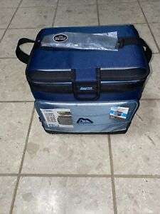 Insulated Cooler 24 CAN ARCTIC ZONE Zipperless Lid Removable Adjustable Portable