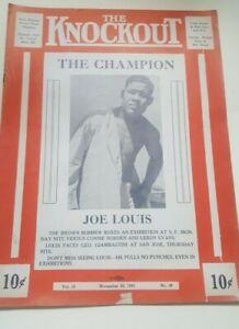 Vintage 1941 Wrestling Boxing Program. Joe Louis. WIld Red Berry.