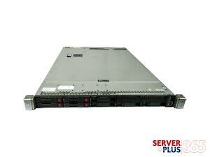 HP ProLiant DL360 G9, 2x 2.6GHz E5-2690v4 14-Core, 256GB RAM, 4x 1.2TB 12G SAS
