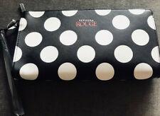 Sephora VIB ROUGE Makeup Clutch - Black, Red and White Polka Dot NIP