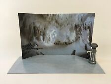 Custom Vintage Star Wars Esb Hoth Wampa Cave Diorama telón de fondo