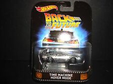 Hot Wheels DeLoran Time Machine Hover Mode Back to the future 1/64 DMC55-956A