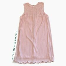 NWT Lane Bryant Women's Plus 14/16 Pink Lace Swing Trapeze Dress