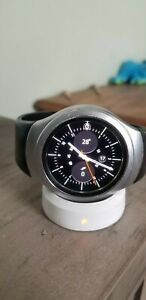 Samsung SM-R720 Gear S2 Smartwatch - Silver with Black Band