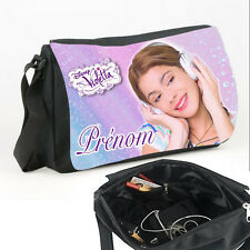 Sac bandoulière Violetta Disney personnalisé avec prénom V2