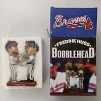 Atlanta Braves Freddie Hugs Bobblehead Freeman And Gomes MLB NIB