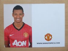 2012-13 Nani Unsigned Man Utd Club Card (13816)