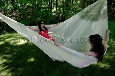 NEWJUMBO XXXL OFF  WHITE COTTON Mayan Mexican Hammock