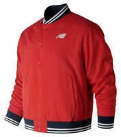 New Balance Men's Essentials Stadium Jacket Red