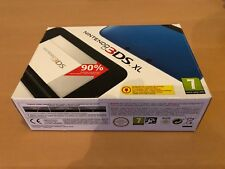 Nintendo 3DS XL Blue & Black Handheld System - Brand New - with AC adapter