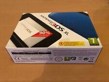 Nintendo 3 DS XL Azul y Negro Sistema portátil - - con Adaptador de CA Nueva