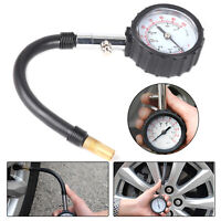 Tyre Pressure Gauge Air Measurement Inflator BAR PSI Car Bike Van Motorbike Auto