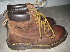 """Doc Dr. Martens Size 6 Mens Youth Boots """"Broken in"""" and Used Brown Leather Shoes"""
