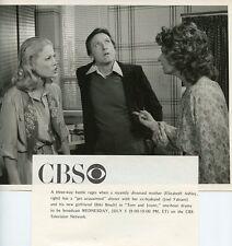 BIBI BESCH JOEL FABIANI ELIZABETH ASHLEY TOM AND JOANN ORIGINAL '78 CBS TV PHOTO