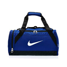 Nike BA4832-411 Brasilia 6 Duffel Bag XS Royal Blue / White