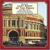 Last Night of the Proms, Various Composers, Very Good CD