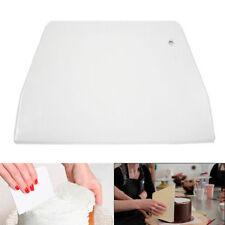 Plastic Dough Icing Fondant Scraper Cake Decorating Smoother Cream Icing Mold US
