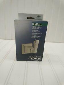 Kohler Kallan Single Robe Hook in Vibrant Brushed Nickel