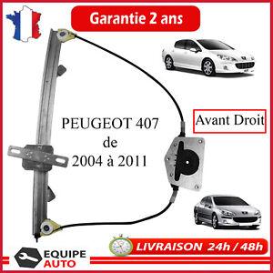 Elektrischer Fensterheber Vorne Rechts für Peugeot 407 & Sw Gh 1619992780 9222Q4