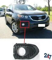 FRONT BUMPER FOG LIGHT COVER GRILLE RIGHT O/S COMPATIBLE WITH KIA SORENTO 09-12