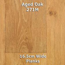 Quality Non Slip Vinyl Flooring Wood & Tile Effects Cheap Kitchen Bathroom 3m