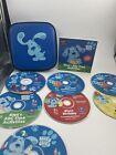 Blue's Clues CD Rom Games ABC 123 Time Treasure Hunt Birthday Adventure + Case
