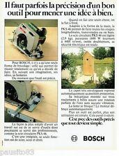 PUBLICITE ADVERTISING 106  1983  Bosch outillage   scie circulaire