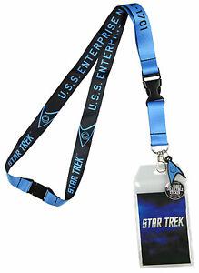 Bioworld Star Trek Lanyard  - Blue Member