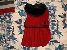 New listing Dog Coat/ dress Design she will look classy warm / stylishS- Silky /Yorkshire