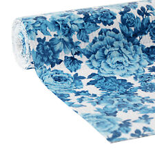 "The Pioneer Woman Heritage Floral Blue Non-Adhesive Drawer Shelf Liner 20"" x 6'"