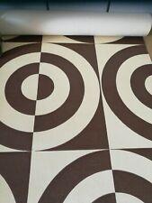 Tapete - orig. 70er Jahre Space Age - geometrisches Design - 5,70 m