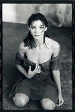 Photo Jean François Jonvelle Tirage Original Clotilde Coureau Cinéma Vers 1990
