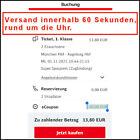 🔥 20€ DB Deutsche Bahn Gutschein eCoupon. Versand erfolgt automatisch 🔥 <br/> Versand innerhalb 60 Sekunden, rund um die Uhr