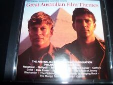 Great Australian Film Themes Rare ABC Music Soundtrack Music CD – Like New