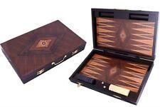 V.I.P Noble Wooden Box Tavla Backgammon Board Tavli Checkers XXL 60x48x6,5cm