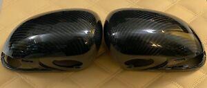 Genuine MCLAREN Carbon Fiber Mirror Caps 12C 650S 570S/GT 600LT P1 Ultra RARE!