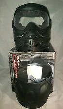 Proto Switch EL paintball protective Goggles system - Black