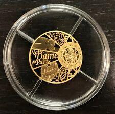 MDP - 50 euros or 2013 - Unesco 850 ans de la cathédrale Notre Dame de Paris
