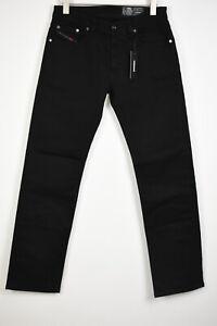 RRP€150 DIESEL LARKEE R86H8 STRETCH Men W32/L32 Straight Clean Look Jeans 12749