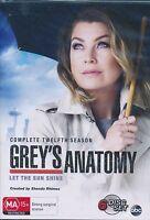 Grey's Anatomy Complete Twelfth 12 Season Twelve DVD NEW Region 4